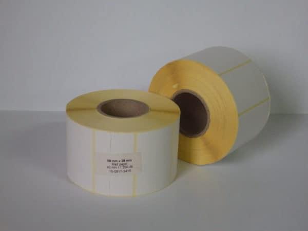 öntapadó tekercses etikett címke