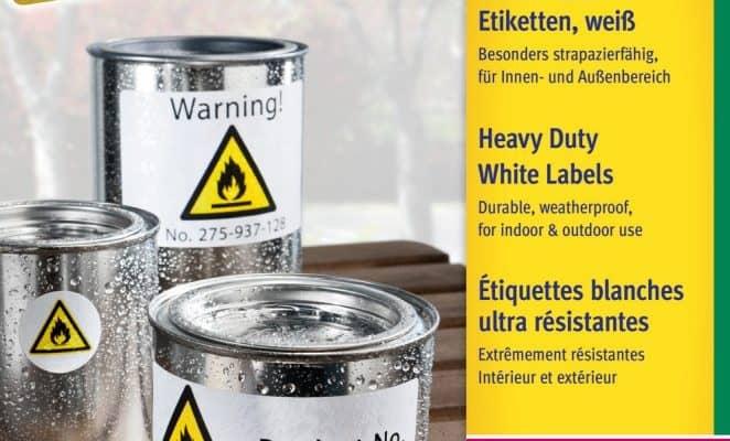 a4 íves etikett címke időjárásálló
