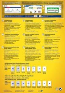etikett címke L7914-40