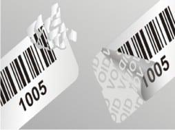 void biztonsági etikett címke
