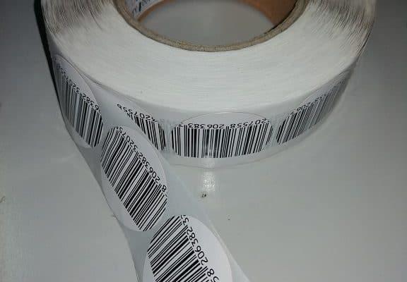 öntapadós áruvédelmi címke