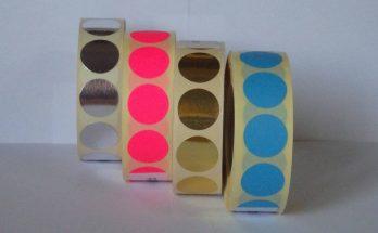 jelölő címke tekercses színes
